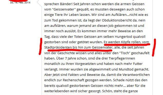 Ziegenversteher Ruedi Müller aus Frick ist ein Wahrheitsverdreher